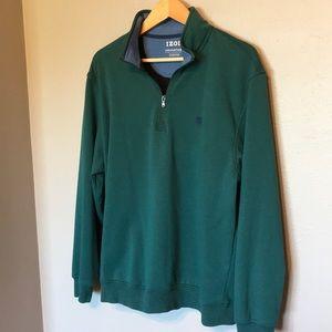 Izod Performance Stretch pullover jacket large